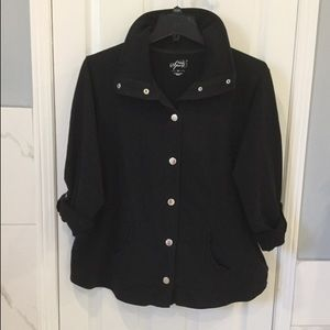 Style & Co | Black Sweat Jacket